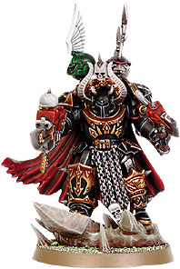 Black Legion Chaos Terminator Lord