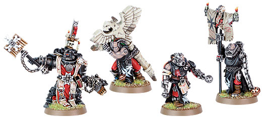 40k Space Marine Chapters