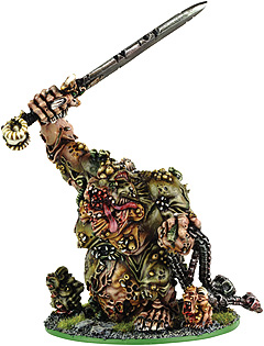 Nurgle Greater Daemon Great Unclean One