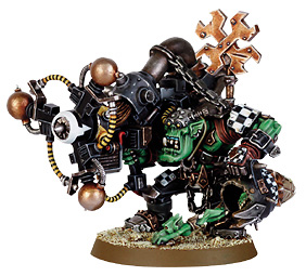 Ork Big Mek with Shock Attack Gun