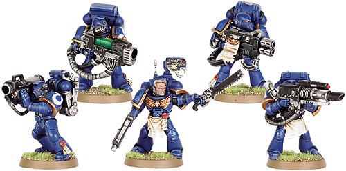 Ultramarine Devastator Squad