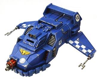 Ultramarine Land Speeder Tempest