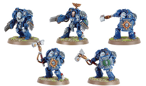 Ultramarine Terminator Assault Squad